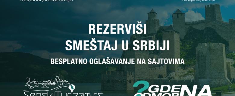 Odmor u Srbiji i pomoć srpskom turizmu