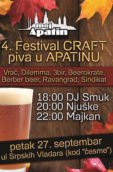 4. festival CRAFT piva