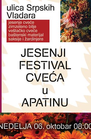 Festival jesenjeg cveća u Apatinu